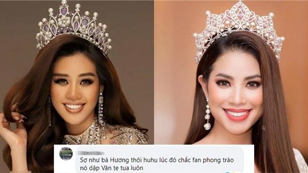 Khánh Vân được đánh giá cao tại Miss Universe, netizen bỗng 'sợ dớp' Phạm Hương