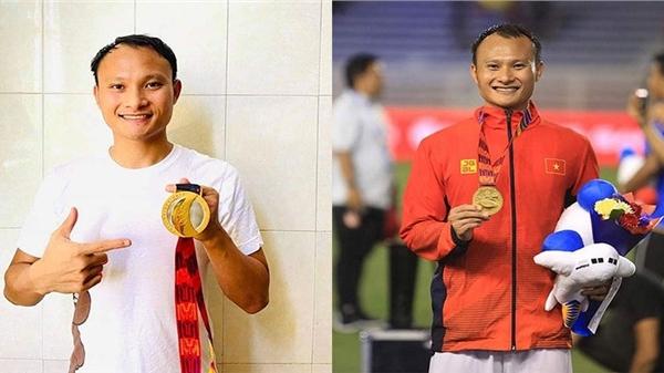 Cầu thủ Trọng Hoàng đấu giá chiếc huy chương vàng SEAGames gây quỹ phòng chống Covid-19