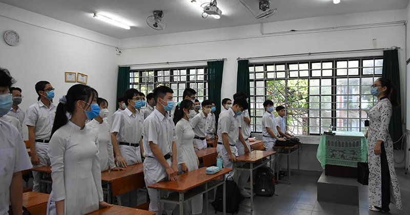 NÓNG: Một địa phương vừa công bố lịch cho học sinh đến trường trực tiếp trở lại