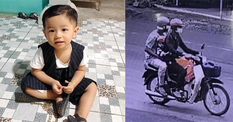 Bé trai 2 tuổi ở Bình Dương mất tích trước sân nhà: Mạng xã hội kêu gọi tổng lực vào cuộc
