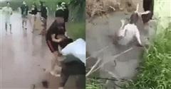 Phẫn nộ nam sinh 14 tuổi kéo lê nữ sinh, liên tục đập vào đầu nạn nhân rồi dìm xuống nước