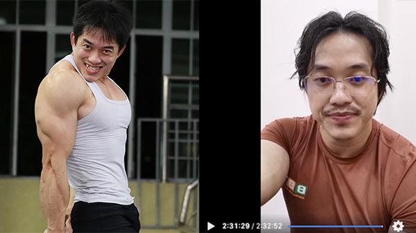 'Gym chúa' Duy Nguyễn lên sóng livestream trở lại, thông báo thay đổi cấu trúc 'dame trẻ trâu'