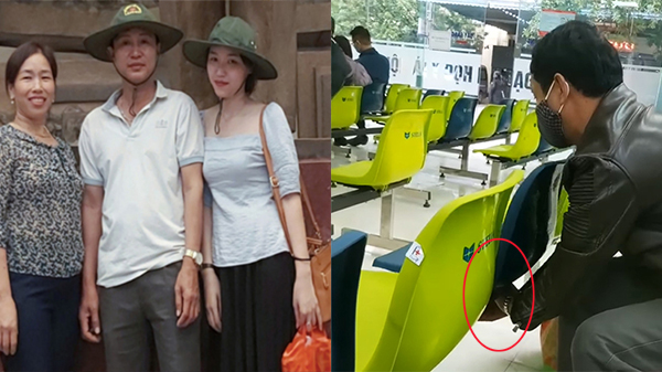 Cặm cụi sửa từng chiếc ghế lỏng vít ở bệnh viện, người bố không hay con gái đã lén quay lại toàn bộ hành động tử tế ấy