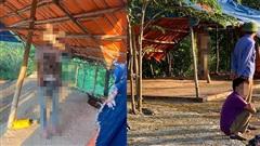 Hiện trường thanh niên tử vong trong tư thế treo cổ ở lán quán huyện Tam Nông, tỉnh Phú Thọ