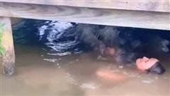 Clip: Đang bơi dưới nước thì bất ngờ co giật, giãy giụa, cô gái khiến tất cả bàng hoàng khi biết được sự thật