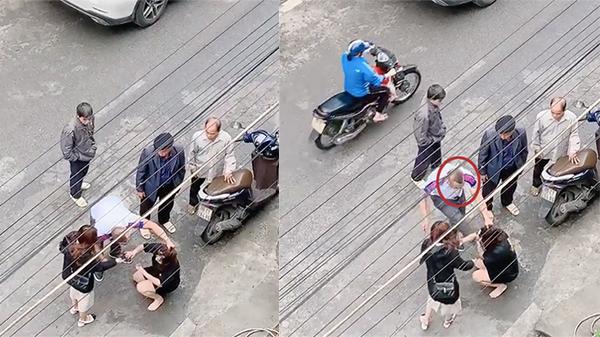 Clip: Người đàn ông túm tóc, đá tới tấp vào mặt người phụ nữ giữa đường vì 'mày dám chửi vợ tao à?'