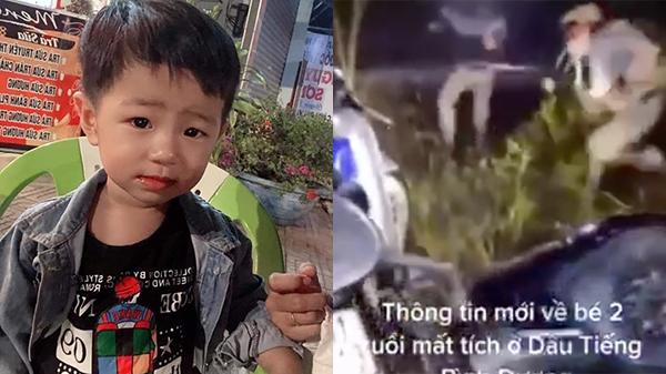 Xuất hiện clip bé trai mất tích ở Bình Dương được giải cứu gây xôn xao dư luận