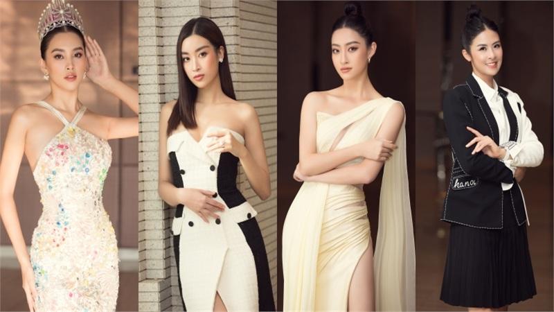 Tiểu Vy diện váy lấp lánh đẹp 'lấn át' dàn hoa hậu tại Chung kết HHVN 2020