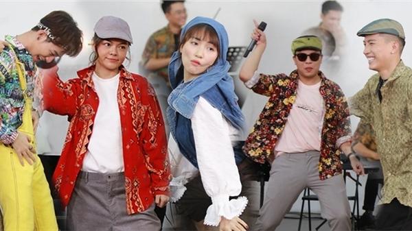 Ali Hoàng Dương - Anh Tú lần đầu kết hợp sau The Voice 2017, Phạm Quỳnh Anh - Hoà Minzy khoe giọng 'khủng'