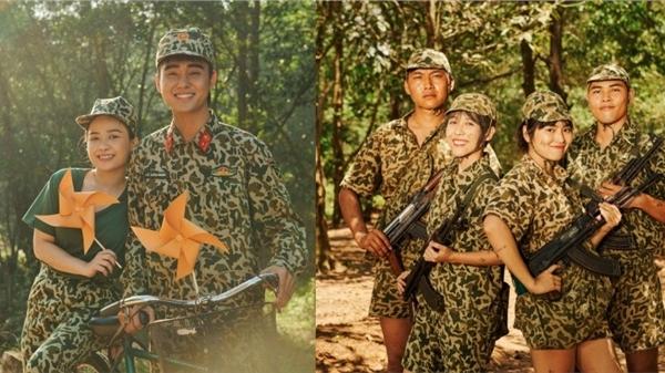 Dương Hoàng Yến về đơn vị từng tham gia 'Sao nhập ngũ' quay MV, Hậu Hoàng - mũi trưởng Long lại được 'đẩy thuyền' nhiệt tình