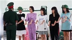 Màn 'tấu hài' của Diệu Nhi khiến sao Việt không nhịn được cười trong sao nhập ngũ