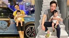 Cường Đô La sắm siêu xe tiền tỷ cho con gái chưa đầy 1 tuổi