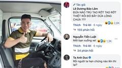 Lê Dương Bảo Lâm thi bằng lái xe lần thứ 14 vẫn rớt