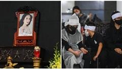 Tang lễ của cố Hoa hậu Thu Thủy đã diễn ra tại Hà Nội