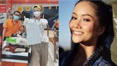 H'Hen Niê trở thành 'shipper part-time', sẵn sàng đi chợ 'thay người dân'