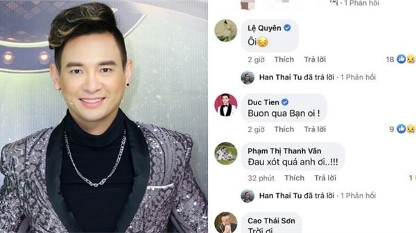 Dàn sao Việt bàng hoàng trước tin ca sĩ Việt Quang qua đời ở tuổi 44