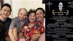 Cáo phó của bố ruột NS Hoài Linh, Dương Triệu Vũ