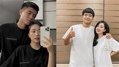 Hà Đức Chinh cùng bạn gái mặc đồ đôi, tạo dáng cực tình, 'thả thính' cực chất nhận 'bão like'