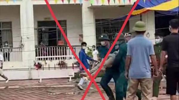 Thông tin, hình ảnh cấp cứu người dân bị sốc phản vệ sau khi tiêm vaccine Covid-19 ở Quảng Ninh là sai sự thật