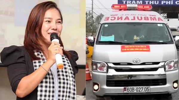 Giang Kim Cúc chính thức lên tiếng vụ xe cấp cứu của nhóm chở 'chui' 3 người 'thông chốt' bị phạt