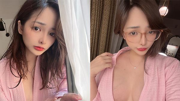 'Nữ thần cosplay' Mimi Chan khoe bộ áo ngủ lấp ló vòng một hờ hững 'đốt mắt' người nhìn