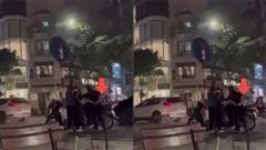 Giật điện thoại trên phố xong giấu nhẹm vào quần, người phụ nữ bị bắt tại trận
