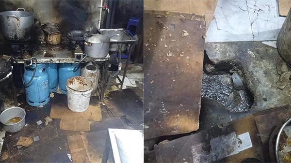 Xôn xao những hình ảnh bẩn đến 'kinh hoàng' bên trong một quán cơm ở khu đông sinh viên bậc nhất Hà Nội