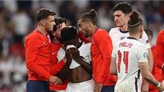 Khoảnh khắc buồn của tuyển Anh: Dàn cầu thủ ôm mặt khóc vì để tuột mất 'ngôi vương'