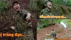 'Sao nhập ngũ 2020' tập 13: Diệu Nhi tấu hài kể cả khi bị trúng đạn, Hậu Hoàng mất tích khi đi rừng