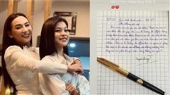 Con nuôi Phi Nhung chia sẻ lại bức thư gửi mẹ hồi lớp 5, có nhắc đến cả Hồ Văn Cường