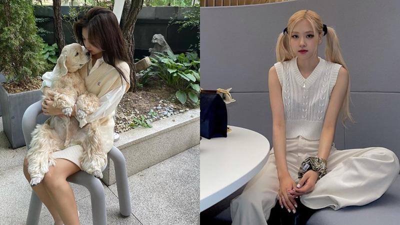 Học Jennie, Rosé và loạt mỹ nhân Hàn cách diện áo gile len mùa thu đơn giản mà cực 'ăn điểm'
