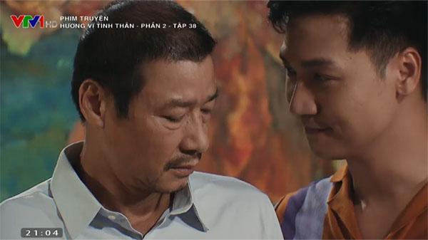 'Hương vị tình thân' tập 38 (p2): Ông Sinh rưng rưng khi nghe Long gọi là bố