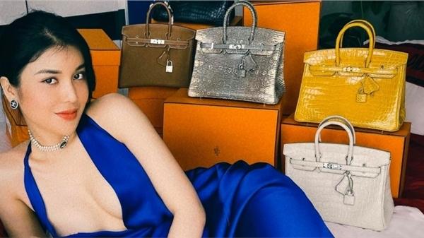 Lily Chen khoe bộ sưu tập túi đắt đỏ, có cả mẫu túi đắt nhất hành tinh