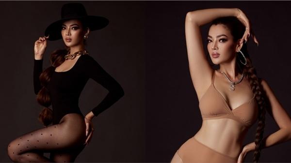 Trân Đài khoe thân hình nóng bỏng, săn chắc chuẩn bị cho Miss International Queen