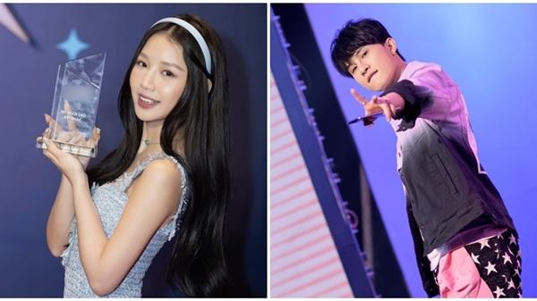 Netizen khen ngợi hành động của Jack dành cho Amee khi nhận giải 'Nữ Ngôi sao âm nhạc'