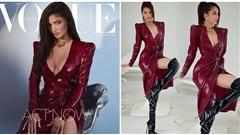 Ngọc Trinh diện đầm da bóng sexy 'ngộp thở', outfit lại giống hệt Kylie Jenner?