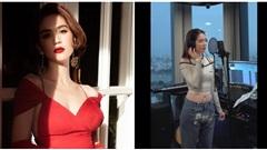 Ngọc Trinh tung clip hát ủng hộ đội tuyển Việt Nam, thể hiện khả năng rap đầy bất ngờ