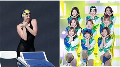 Góc đáng yêu: Vận động viên Olympic người Mỹ khởi động bằng cách nhảy nhạc của Twice và Black Pink