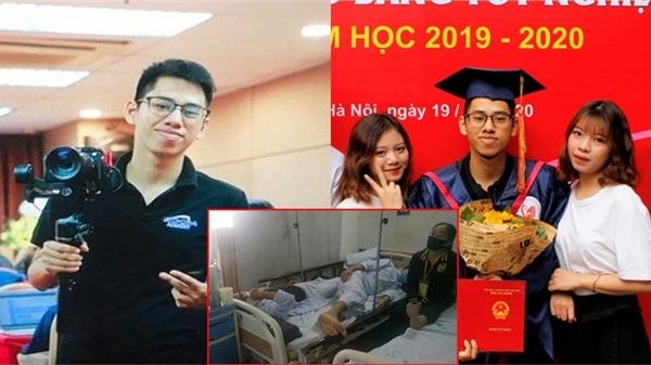 Chàng trai vừa cầm bằng tốt nghiệp loạt giỏi thì nhận kết quả ung thư máu đã ra đi: 'Cuộc đời vô thường, vĩnh biệt lớp trưởng gương mẫu!'