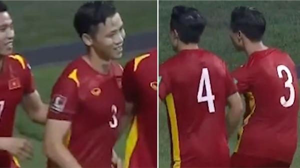 Clip: Khoảnh khắc Quế Ngọc Hải lắc mông ăn mừng 'siêu cute' sau cú đá phạt thành công, giúp tuyển Việt Nam thắng Malaysia