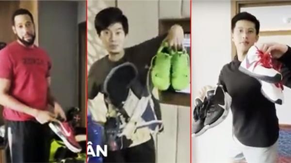 Soi đôi giày yêu thích nhất của dàn cầu thủ Thang Long Warriors mang đến VBA 2021