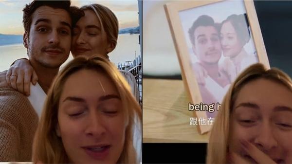 Khi người yêu quá đẹp: Cô nàng 'ngã ngửa' bởi vô tình thấy anh được... photoshop thành bạn trai của nữ diễn viên trong phim