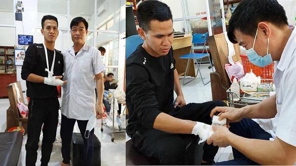 Anh Nguyễn Ngọc Mạnh bị rạn xương ngón tay: Nhiều người gửi lời chúc anh sớm bình phục
