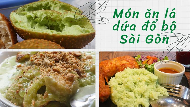 Top những món ăn đường phố thuộc 'hệ lá dứa' khuấy đảo ẩm thực Sài Gòn