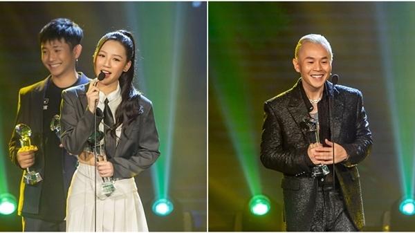 Đại thắng tại Làn sóng xanh 2020, Binz và Amee vướng tranh cãi dữ dội khi nhận giải 'Ca sĩ của năm'