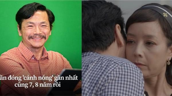 ĐỘC QUYỀN: NSND Trung Anh tiết lộ nguyên tắc đóng cảnh nóng sau nụ hôn má với Chiều Xuân trong 'Mặt nạ hạnh phúc'