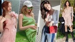 Sao Hàn mặc đẹp tuần qua: Somi quyến rũ không ai bằng, Arin như tiên nữ, Hyomin diện đồ đơn giản mà sành điệu 'hết sảy'