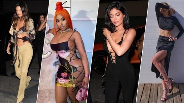 Điểm style US-UK tuần qua: Kylie Jenner lên đồ 'hiểm hóc' nhưng chưa là gì với Nicki Minaj, siêu mẫu U50 'nghiện' khoe nội y