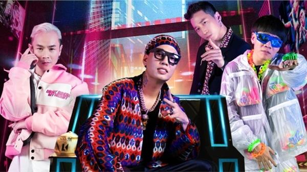 Lần đầu xuất hiện tại Rap Việt mùa 2, các huấn luyện viên 'tạo nét' với gu thời trang độc lạ