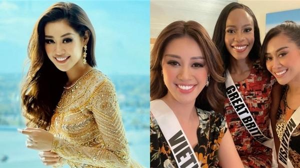 'Lầy lội' như Hoa hậu Khánh Vân: Rủ hội chị em Miss Universe quẩy cực sung trên nền nhạc... dân ca Việt!